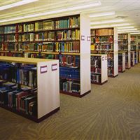 Library Book Shelving at Central Michigan University