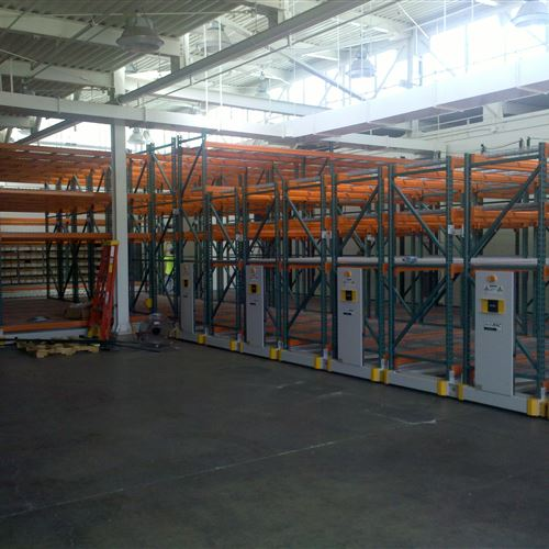 Industrial Warehouse Racking at an Army National Guard