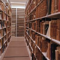 Special Collection Books on Static Shelving