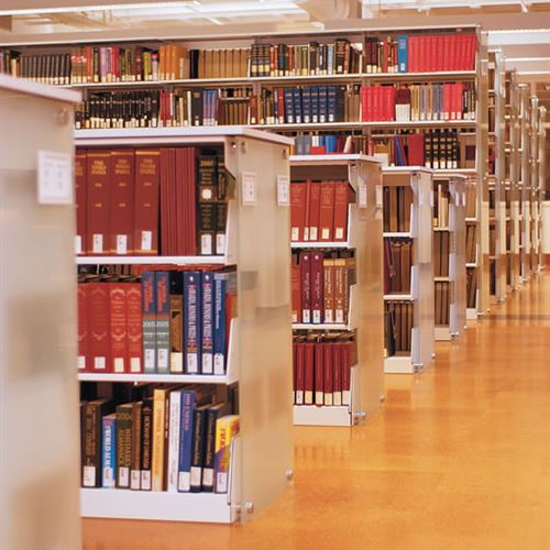 Static Library Shelving at College of Charleston