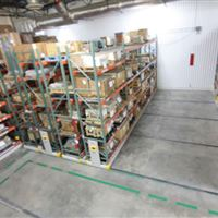 Mobilized Storage in General Storage Supply area of Southern Car Manufacturing Facility