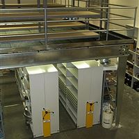 ActivRAC Industrial Shelving at ISD Maintenance Service Center, San Francisco, CA