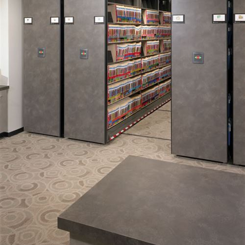 Powered Moblie File Storage at Discount Tire