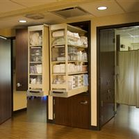 CoreSTOR Side-by-Side Units for Medical Supply Storage