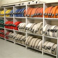 Fire Hose Storage at Fort Atkinson Fire Department