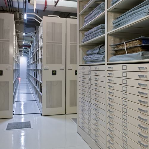 Archival Storage on Powered Mobile