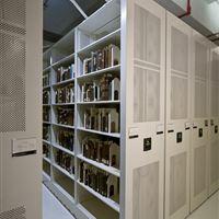 Rare book Storage on Mobile Storage System