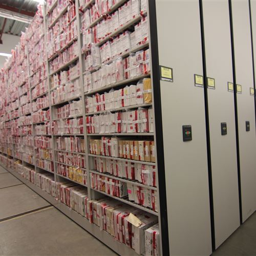 Long Term Evidence Storage at Houston Police Department