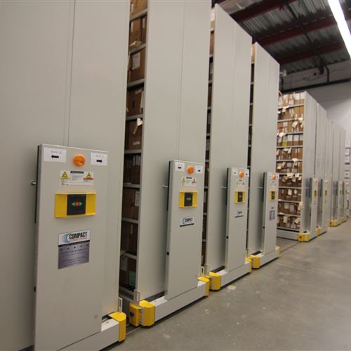 ActivRAC Industrial Shelving at Houston Police Department
