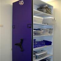 Women's Volleyball Athletic Equipment Storage