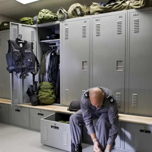 Personal Duty Lockers for Police Gear