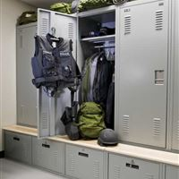 Personal Storage Lockers for Police Departments