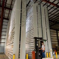 XTend High Bay Warehouse Storage with Forklift in Industrial Area