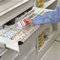 Drawers in Mobile System for Sterile Storage