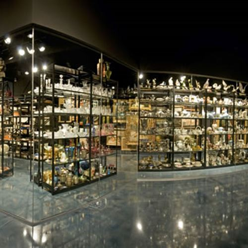 4-Post Shelving at Daytona Museum of Arts & Science