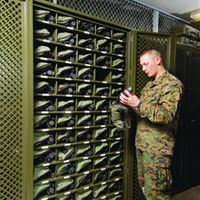 Weapon Optics Storage in the Military