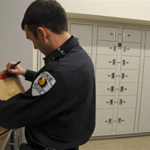 Marking Evidence from Secure Locker System