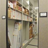 Evidence Gun Storage on Mobile Shelving