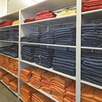 Inmate Intake Clothing Storage at Arapahoe County, CO