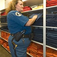 Inmate Clothing Storage at Arapahoe County Detention Center