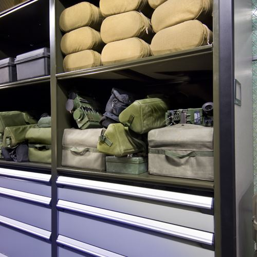 Military Supply Storage at Marine Corp Base