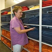 Static Inmate Clothing Storage at Arapahoe County, Colorado