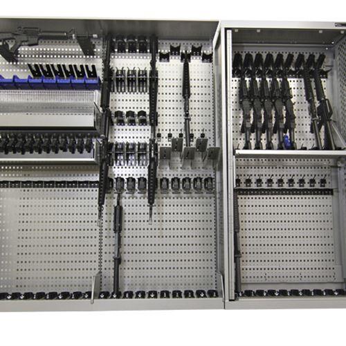 WeaponWRX Storage System with Universal Weapons Rack