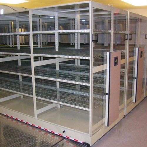 Powered Moveable Storage in Hospital Operating Room