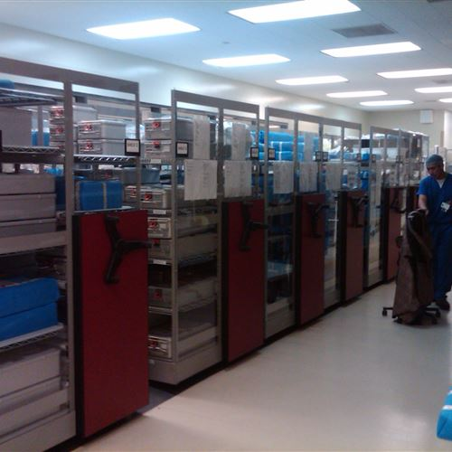 Surgical Supply Storage at Naval Medical Center