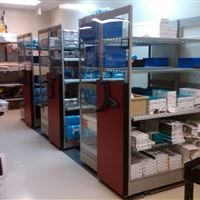 Sterile Equipment Storage at Naval Medical Center