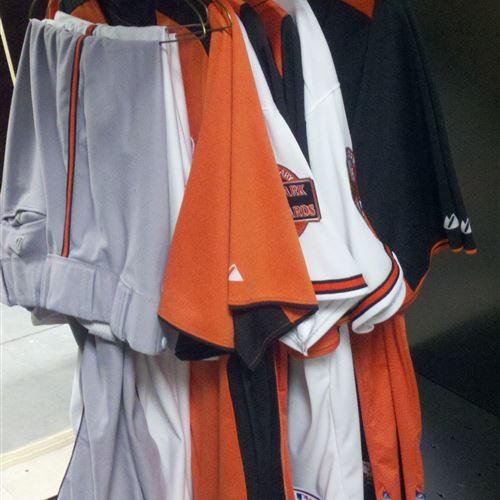 Custom Uniform Storage for the Baltimore Orioles