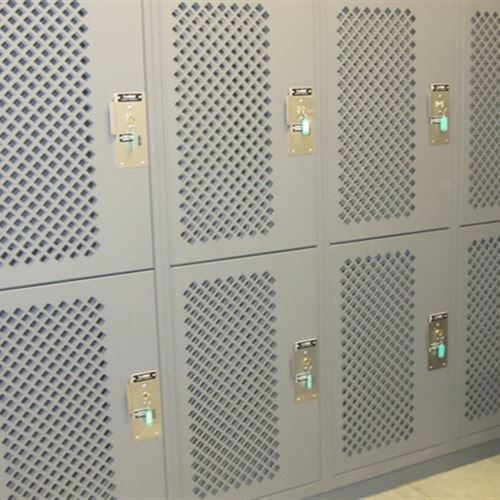 Tactical Readiness Lockers at Carbondale Police Department