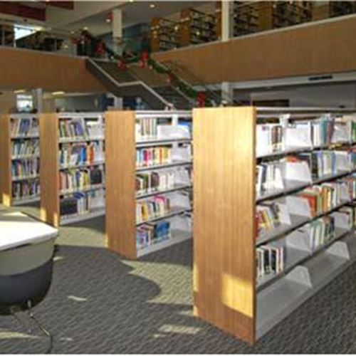 Library Storage System using Cantilever shelving
