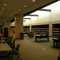 Library Shelving & Computer Lab at Akron Summit County Public Library