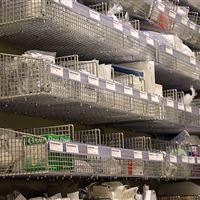 Wire basket storage on FrameWRX