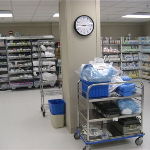 Sterile Storage for Operating Room