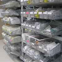 Central Supply Storage for Sterile Supplies