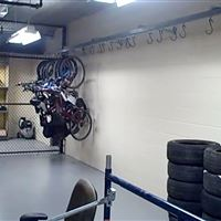 Static Shelving for Bike Storage