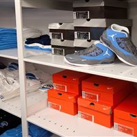 Athletic Shoe Storage at UNC