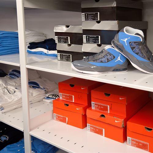 Athletic Shoe Storage at UNC