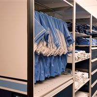 Hanging Uniform Storage at University of North Carolina