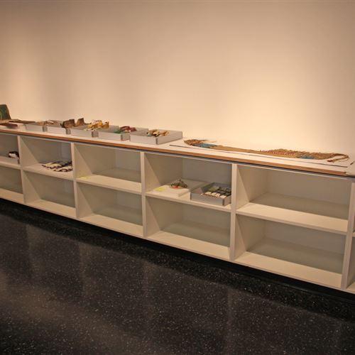 art storage shelves