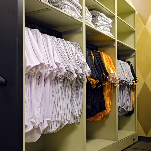 Baseball Uniform Storage at University of Tennessee