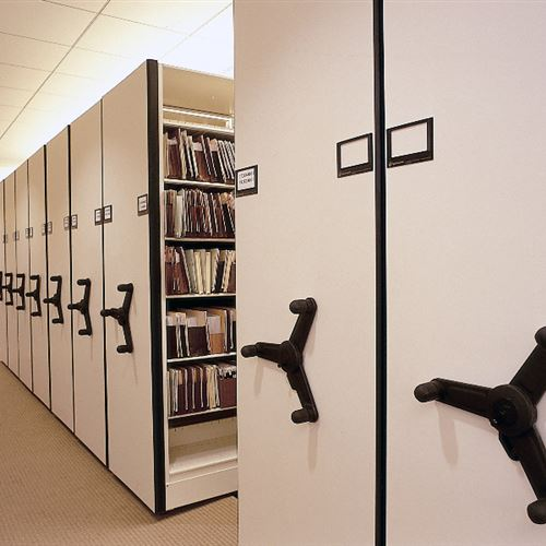 Mechanical High Density Storage System for Law Firm