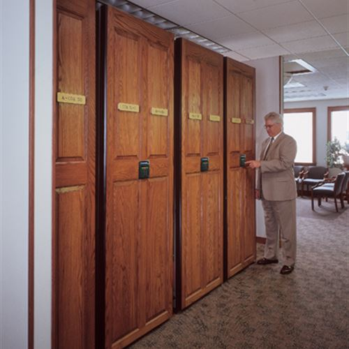 Powered Mobile Storage in Law Firm