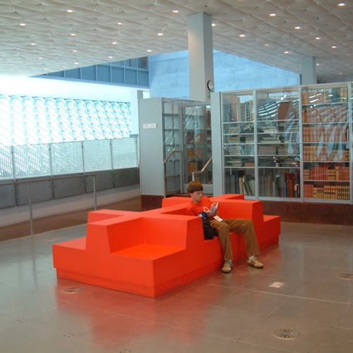 Cantilever Shelving at Seattle Public Library