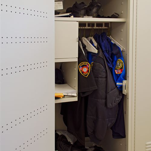 Customizable Police Gear Locker