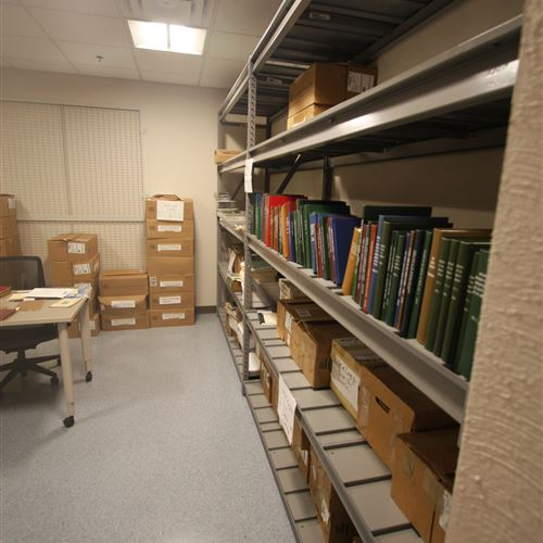 Archival Storage for McClelland Library