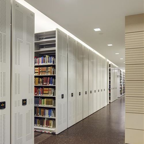 Berkeley Law goes GOLD with Powered Mobile Shelving