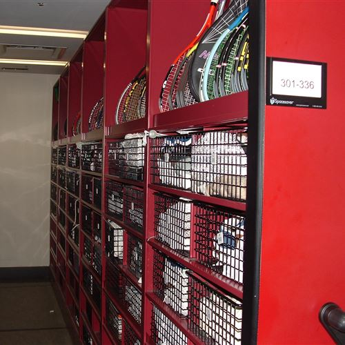 Mechanical-Assit Mobile Storage at Union Club of New York